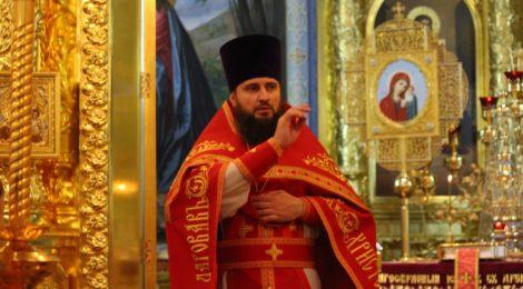 В кафедральном соборе Рождества Христова прошло Пасхальное богослужение